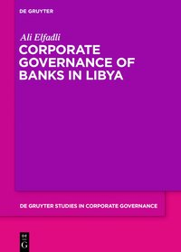 Cover Corporate Governance of Banks in Libya