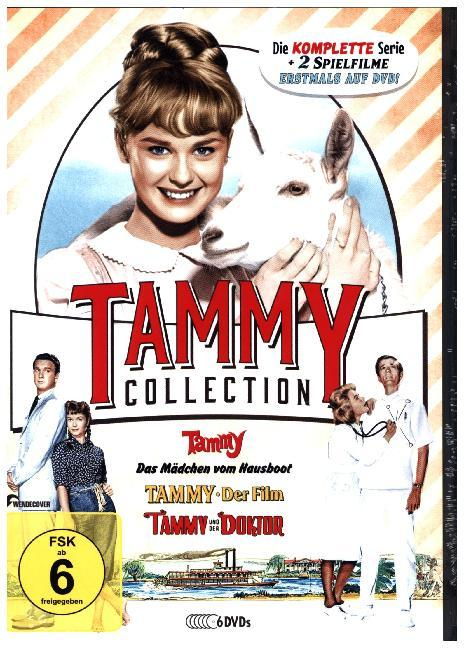 Cover Die Tammy-Collection: Die komplette Serie + Spielfilme, 6 DVDs