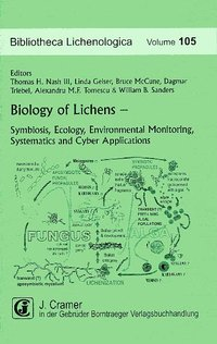 Cover Biology of Lichens - Symbiosis, Ecology, Environmental Monitoring, Systematics and Cyber Applications