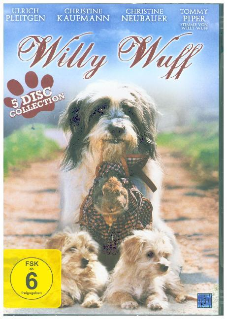 Cover Willy Wuff Collection, 5 DVD (5 Filme Edition)