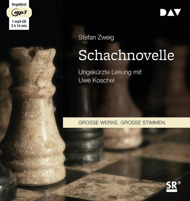 Cover Schachnovelle, 1 MP3-CD