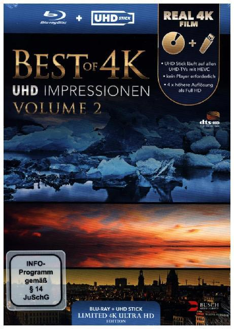 Best of 4K - Vol. 2 (UHD Stick in Real 4K + Blu-ray/Limited Edition)