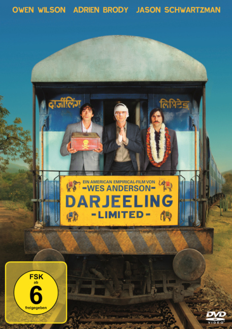 Cover Darjeeling Limited, 1 DVD