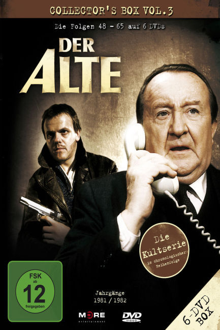Cover Der Alte. Vol.3, 6 DVDs (Collector's Box)