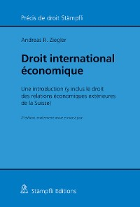Cover Droit international économique