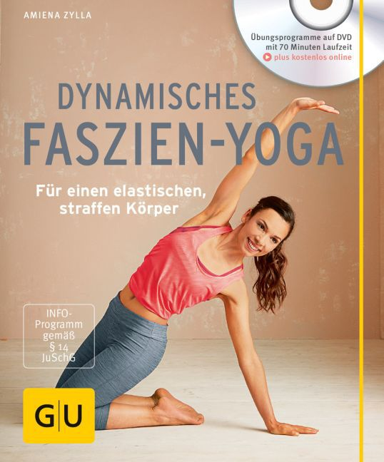 Cover Dynamisches Faszien-Yoga, m. DVD