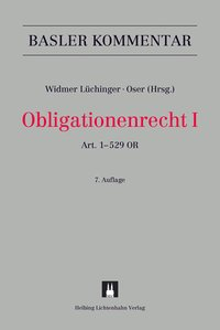 Cover Obligationenrecht I