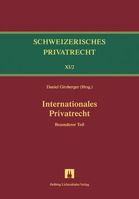 Cover Bd.XI/2: Internationales Privatrecht