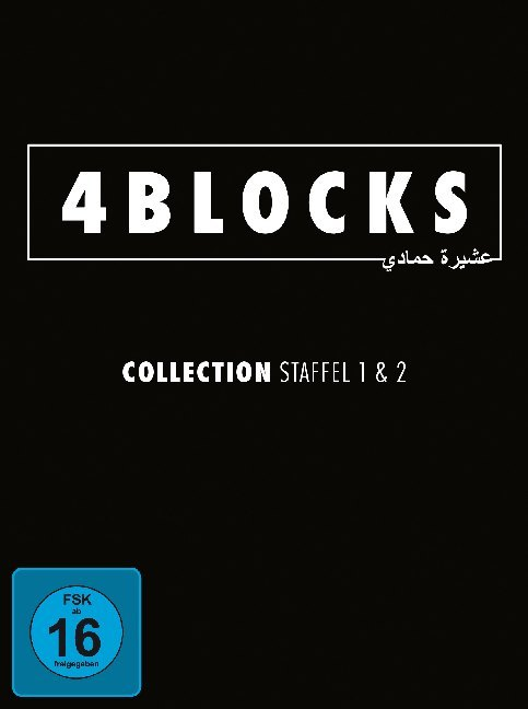 4 Blocks - Collection - Staffel 1+2 (4 Blu-rays) original uncut version