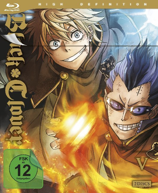 Black Clover - Blu-ray 5 (Episoden 40-51) (2 Blu-rays)