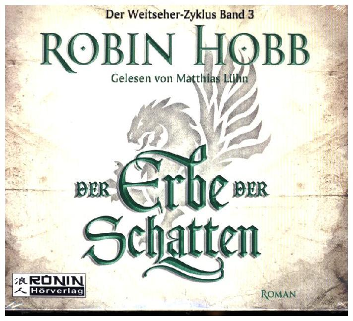 Cover Der Erbe der Schatten, 4 MP3-CDs