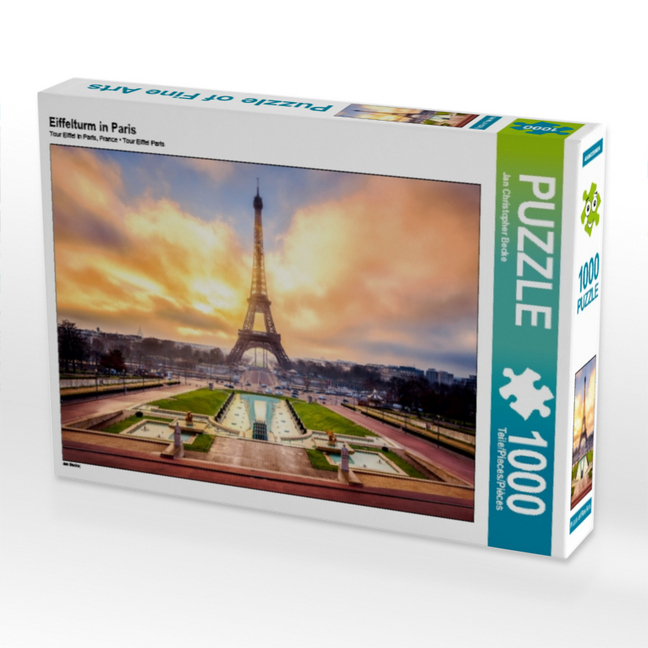 Cover Eiffelturm in Paris (Puzzle)