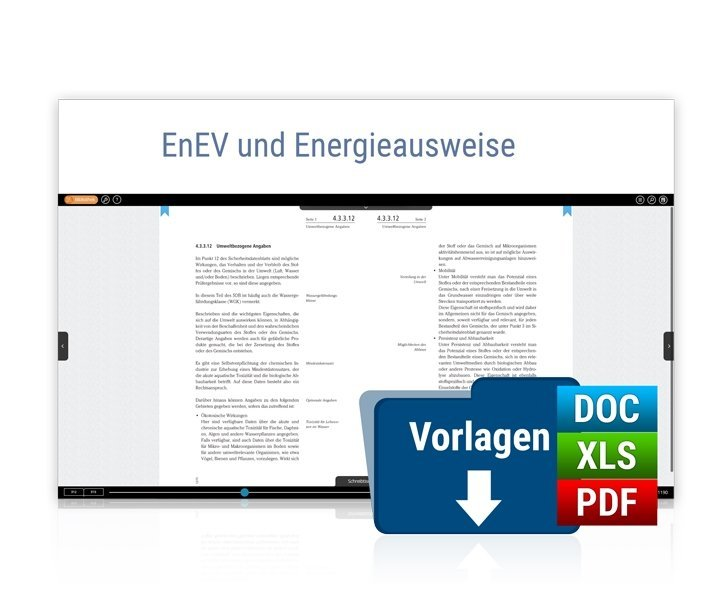 Cover EnEV und Energieausweise