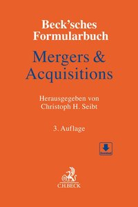Cover Beck'sches Formularbuch Mergers & Acquisitions