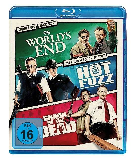 The Worlds End & Hot Fuzz & Shaun of the Dead