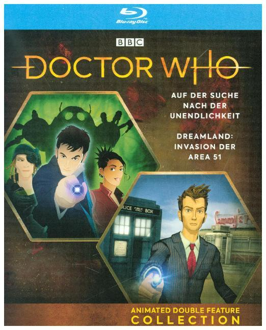 Doctor Who - Anime Double Feature Collection: Dreamland / Auf der Suche nach der Unendlichkeit, 1 Blu-ray