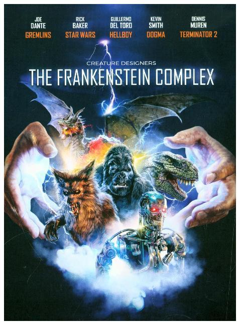 Creature Designers: The Frankenstein Complex (2-Disc Digipak). Blu-ray