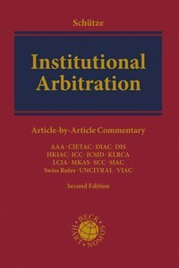 Cover Institutional Arbitration