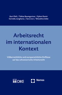 Cover Arbeitsrecht im internationalen Kontext