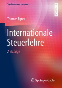 Cover Internationale Steuerlehre