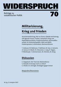 Cover Widerspruch 70
