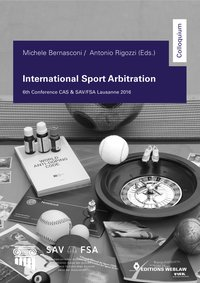 Cover International Sport Arbitration