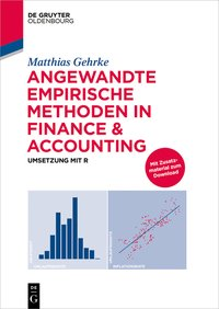 Cover Angewandte empirische Methoden in Finance & Accounting