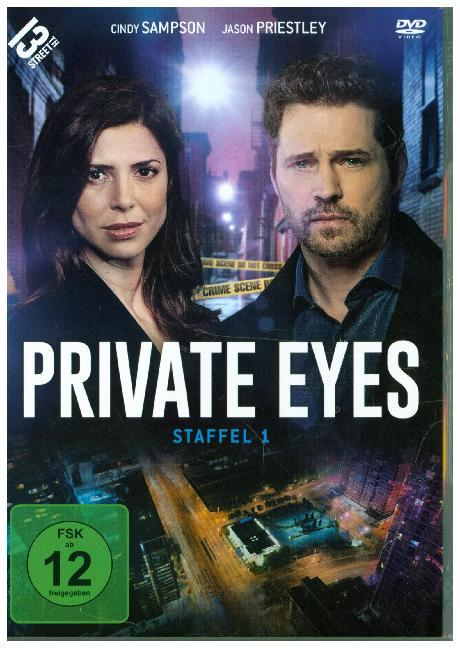 Private Eyes. Staffel.1, 3 DVD