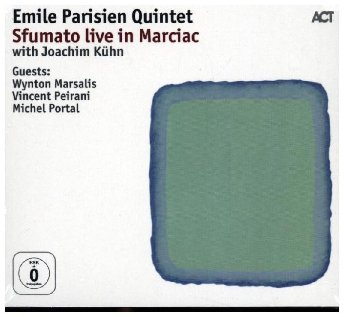 Emile Parisien Quintet- Sfumato - Live In Marciac, 1 Audio-CD + 1 DVD