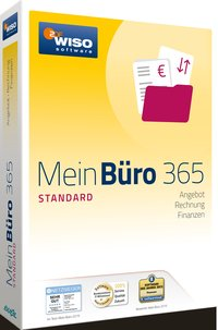 Cover WISO Mein B?ro 365 Standard, CD-ROM