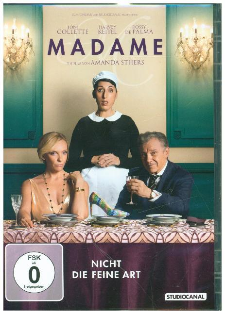 Cover Madame, 1 DVD