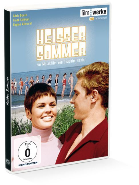 Cover Heisser Sommer, 1 DVD (HD-Remastered)