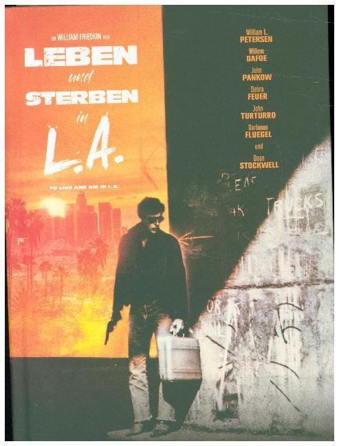 Cover Leben und Sterben in L.A., 1 Blu-ray + 1 DVD (Limited Collectors Edition im Mediabook)