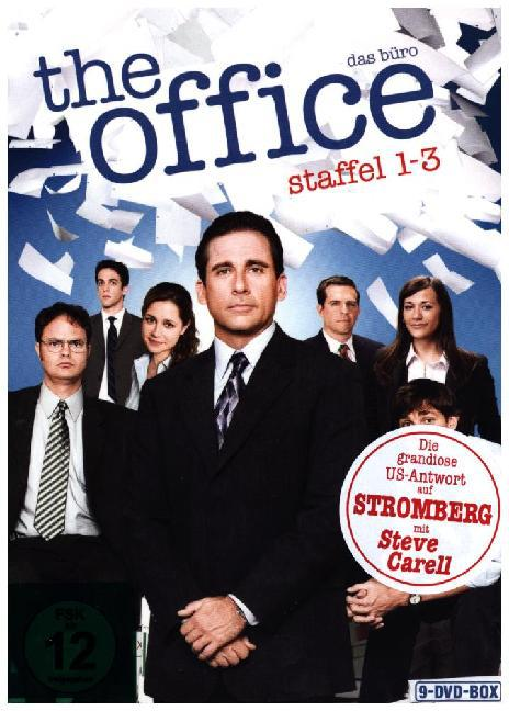 Cover The Office (US) - Das Büro. Staffel.1-3, 9 DVDs