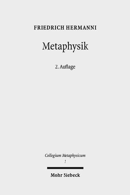 Cover Metaphysik