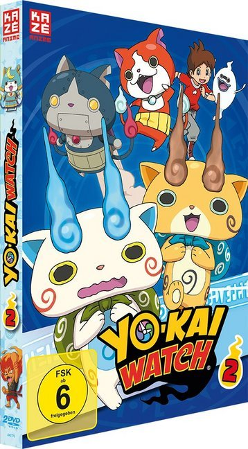 Yo-kai Watch. Nr.2, 2 DVD