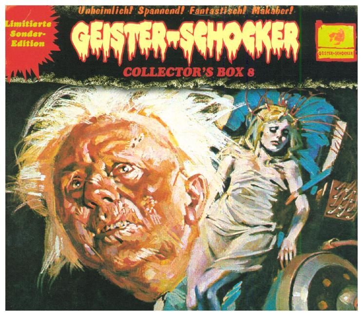 Cover Geister-Schocker Collector's Box, 3 Audio-CD