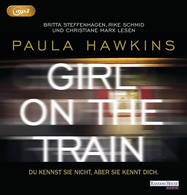 Cover Girl on the Train - Du kennst sie nicht, aber sie kennt dich., 1 MP3-CD