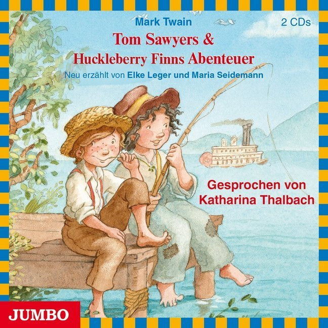 Cover Tom Sawyers & Huckleberry Finns Abenteuer, 2 Audio-CDs