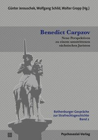 Cover Benedict Carpzov