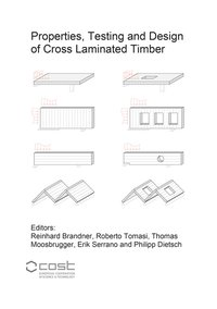 Cover Properties, Testing and Design of Cross Laminated Timber