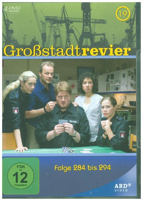 Cover Großstadtrevier. Tl.19, 4 DVD (Softbox)