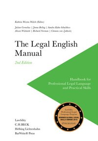 Cover The Legal English Manual