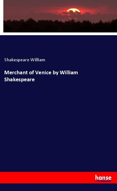 Cover Merchant of Venice by William Shakespeare