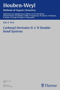 Cover Houben-Weyl Methods of Organic Chemistry Vol. E 14b, 4th Edition Supplement