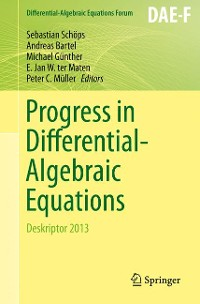 Cover Progress in Differential-Algebraic Equations