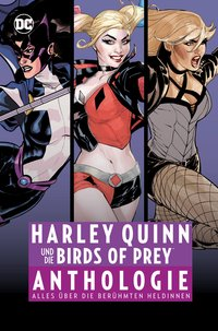 Cover Harley Quinn und die Birds of Prey Anthologie