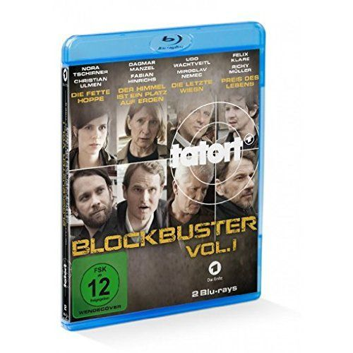 Cover Tatort - Blockbuster. Tl.1, 2 Blu-ray