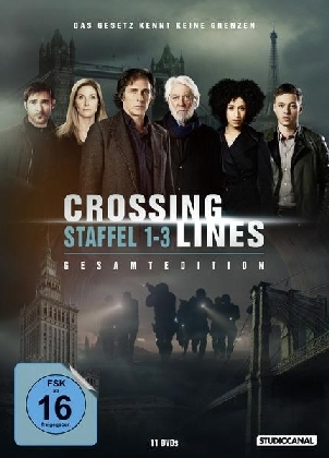 Crossing Lines Gesamtedition. Staffel 1-3, 11 DVDs