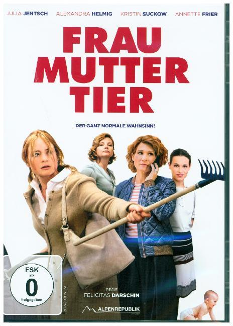Frau Mutter Tier. DVD